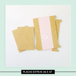 Placa Extra - A6 e A7 - 7B40DC - Studio Office K