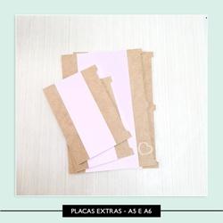 Placas Extras - A5 e A6 - 7C74E2 - Studio Office K