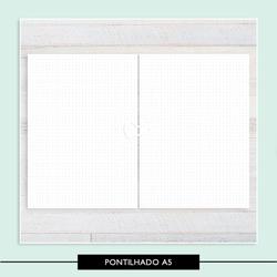 Miolo para Caderno - Pontilhado - 733A05 - Studio Office K