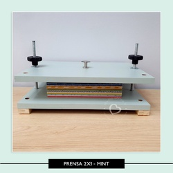 Prensa 2x1 - Mint - ZZ0310 - Studio Office K