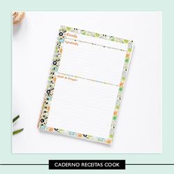Caderno de Receitas * Cook - A5 - 552616 - Studio Office K