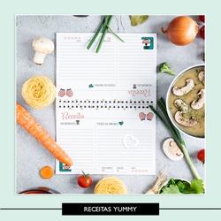 Caderno de Receitas * Yummy - 98G6Z5 - Studio Office K