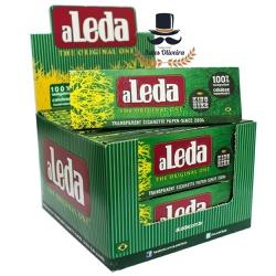 Seda Aleda Green Transparente King Size (Caixa com... - TABACARIASALESOLIVEIRA