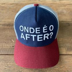 BONE ONDE É O AFTER? MARINHO/VINHO - BN0033 - BEM VINDOS