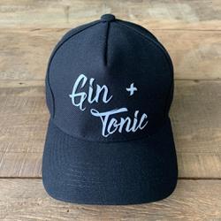 BONE GIN TONIC PRETO - BN0055 - BEM VINDOS