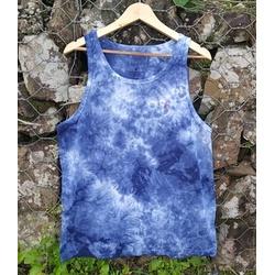Camiseta Regata Ellus Mescla Azul - CRE04 - BEM VINDOS