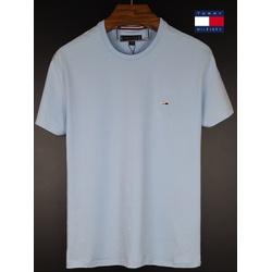 Camiseta Tommy Basica Azul claro - tom-0100 - BEM VINDOS