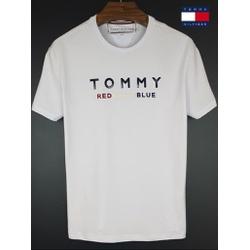 Camiseta Tommy Branca red white blue - tom-0111 - BEM VINDOS