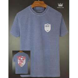 Camiseta Osk Azul Estonada - cosk-010 - BEM VINDOS
