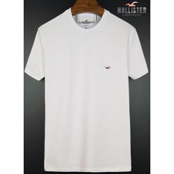 Camiseta Hollister Branca basica 1 - HOLL-1024 - BEM VINDOS