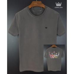 Camiseta Osk Cinza 1 - Osk-1026 - BEM VINDOS