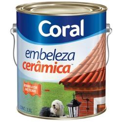 TINTA EMBELEZA CERÂMICA 3,6L CORAL - TINTAS JD