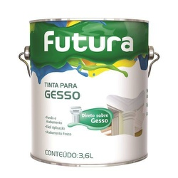TINTA PARA GESSO 3,6L FUTURA - TINTAS JD
