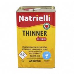 THINNER 8137 18L NATRIELLI - TINTAS JD