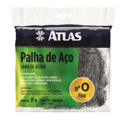 PALHA DE AÇO N°0 25G ATLAS - TINTAS JD
