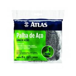 PALHA DE AÇO N°1 25G ATLAS - TINTAS JD