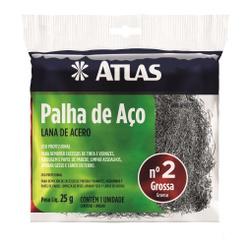 PALHA DE AÇO Nº2 25G ATLAS - TINTAS JD
