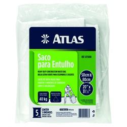 SACO PARA ENTULHO COM 5 PEÇAS ATLAS - TINTAS JD