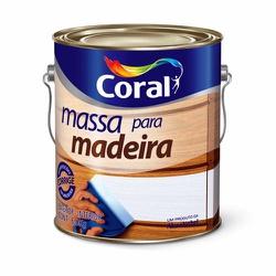 MASSA PARA MADEIRA 6KG CORAL - TINTAS JD