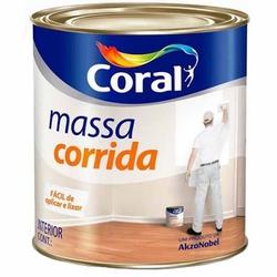 MASSA CORRIDA 1,5KG CORAL - TINTAS JD