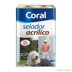 SELADOR ACRILICO 18L CORAL - TINTAS JD