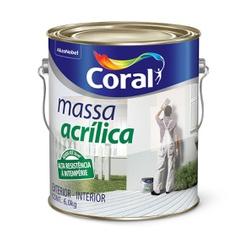 MASSA ACRÍLICA 6KG CORAL - TINTAS JD