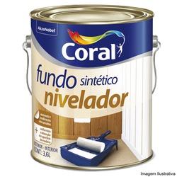 FUNDO NIVELADOR 3,6L CORAL - TINTAS JD