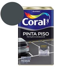 TINTA ACRILICA CINZA ESCURO PINTA PISO 18L CORAL - TINTAS JD