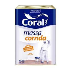 MASSA CORRIDA 25KG CORAL - TINTAS JD