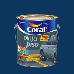 TINTA ACRILICA AZUL PINTA PISO 3,6L CORAL - TINTAS JD
