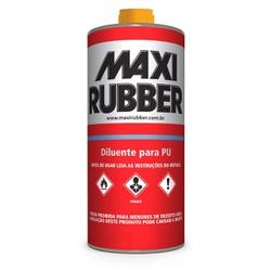 DILUENTE PU 0,5L MAXI RUBBER - TINTAS JD