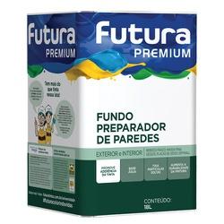 FUNDO PREPARADOR BASE ÁGUA 18L FUTURA - TINTAS JD