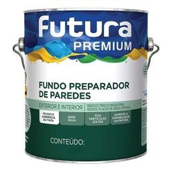 FUNDO PREPARADOR BASE ÁGUA 3,6L FUTURA - TINTAS JD