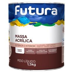 MASSA ACRÍLICA 0,9L FUTURA - TINTAS JD