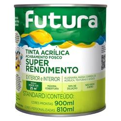 TINTA ACRÍLICA FOSCO BRANCO NEVE SUPER RENDIMENTO ... - TINTAS JD