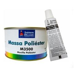 MASSA POLIÉSTER M3500 750G COM CATALISADOR LAZZURI... - TINTAS JD