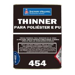THINNER PARA POLIÉSTER/POLIURETANO 454 18L LAZZURI... - TINTAS JD