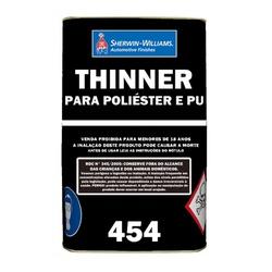 THINNER PARA POLIÉSTER/POLIURETANO 454 5L LAZZURIL - TINTAS JD