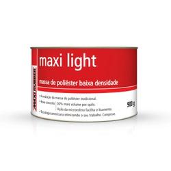 MASSA POLIÉSTER MAXI LIGHT 900G COM CATALISADOR MA... - TINTAS JD