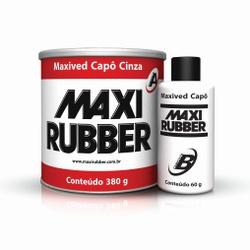 MAXIVED CAPÔ CINZA 380G COM CATALISADOR MAXI RUBBE... - TINTAS JD