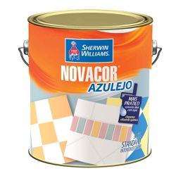TINTA ACRÍLICA ACETINADO BRANCO AZULEJO NOVACOR SH... - TINTAS JD