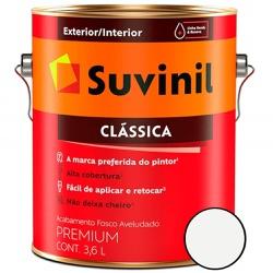 TINTA PVA CLÁSSICA BRANCO NEVE 3,6L SUVINIL - TINTAS JD
