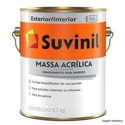 MASSA ACRÍLICA SUVINIL 5,7KG - TINTAS JD