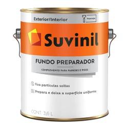 FUNDO PREPARADOR BASE ÁGUA SUVINIL 3,6L - TINTAS JD