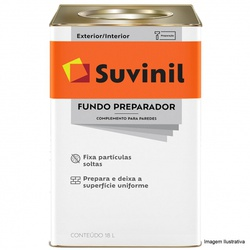 FUNDO PREPARADOR BASE ÁGUA SUVINIL 18L - TINTAS JD
