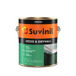 TINTA DIRETO NO GESSO DRYWALL SUVINIL 3,6L - TINTAS JD