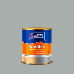 NOVACOR ESMALTE BRILHANTE PLATINA 0,9L