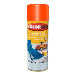 COLORGIN PLASTICOS BRILHANTES TANGERINA