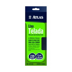 ATLAS LIXA TELADA 115X280MM 240