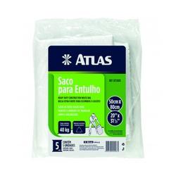 ATLAS SACO DE ENTULHO 50X80CM C/ 5UNIDADES